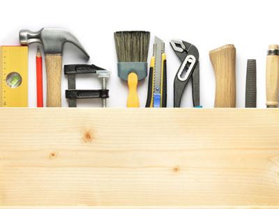 Albañilería, carpintería de aluminio, aplicación de pintura