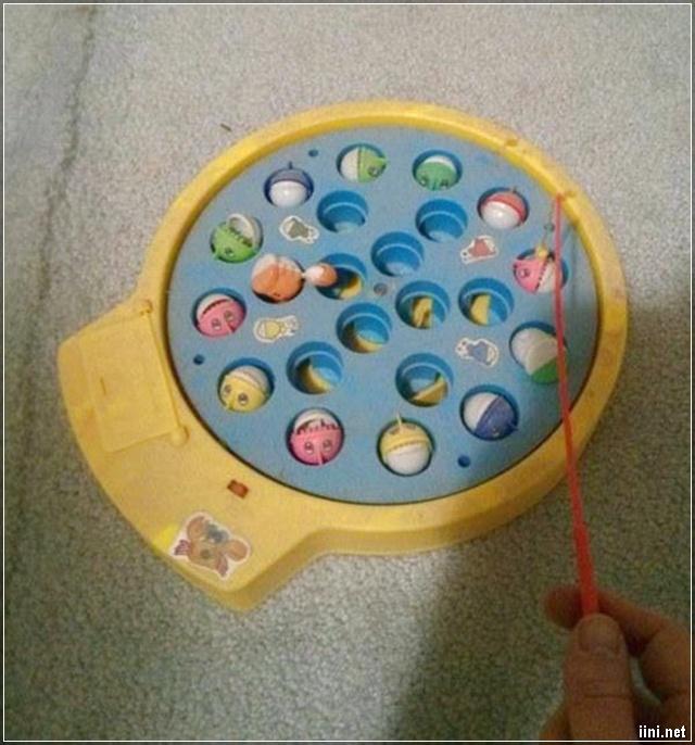 trò chơi câu cá của tuổi thơ