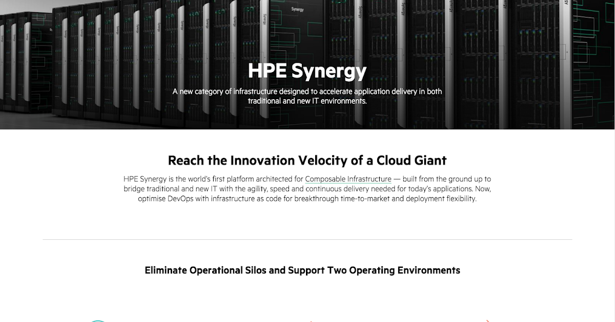 HPE goes 3D for Synergy     but the best part is the