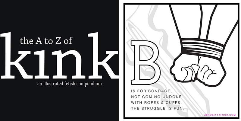 A-z coloring book of Kink