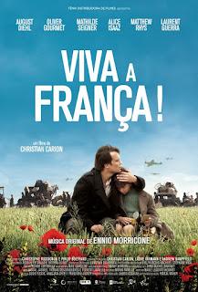 """Poster do filme """"Viva a França!"""""""