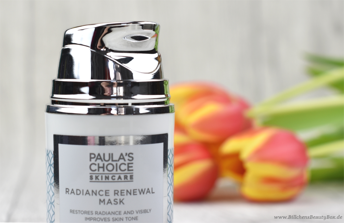 Paula's Choice - Radiance Renewal Maske - Pumpspender