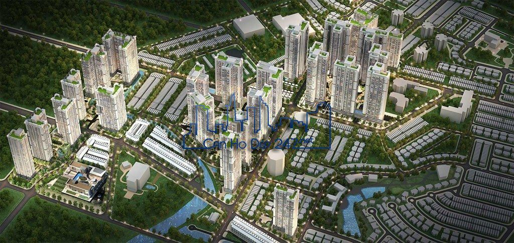 Toàn cảnh dự án An Phú An Khánh - Căn hộ Raemian City Quận 2