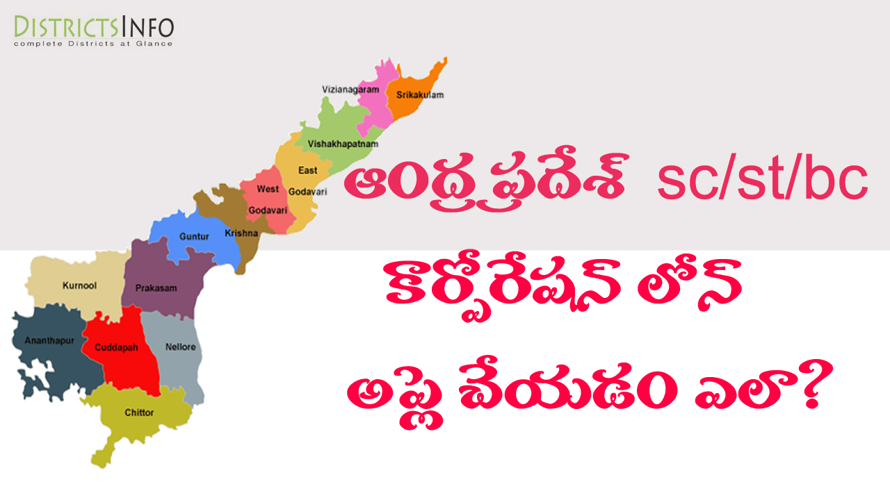 How to Apply for ST/BC/SC/KAPU Corporation Loans in Andhra Pradesh