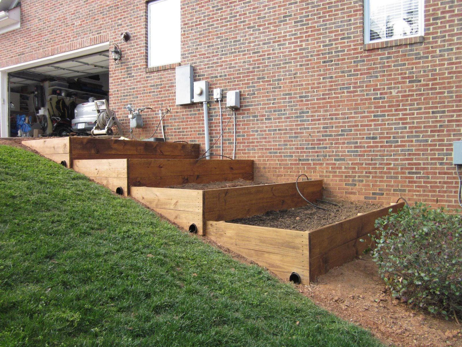 Building Vegetable Garden Planter Box