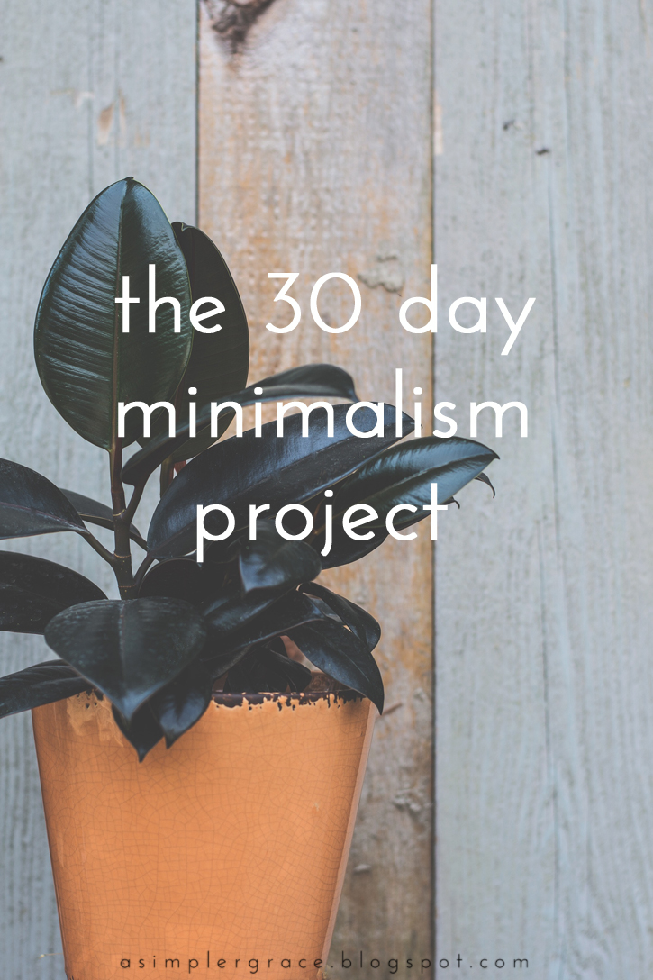 A look back at the last thirty days and the tasks that led me to a minimalist life.