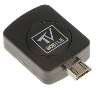 Phenovo Mini Micro USB DVB-T Dongle Stick HD TV Freeview Tuner