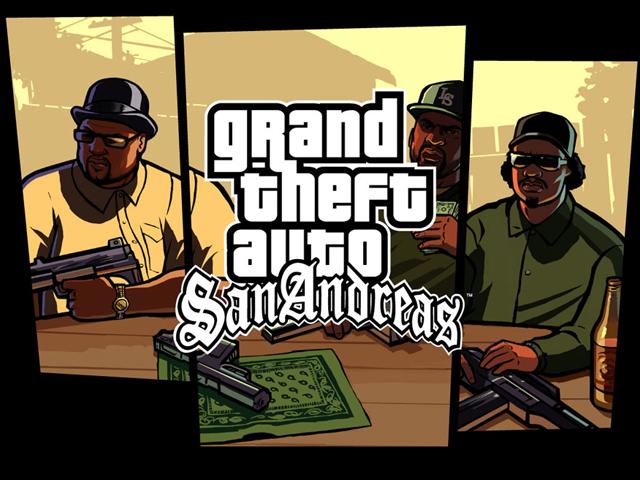 Download File Audio GTA San Andreas