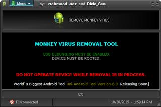 ဖုန္းမွာေမ်ာက္ကိုက္တာေတြကိုေၿဖရွင္းေပးမယ့္ - Monkey Virus Removal Tool 100%