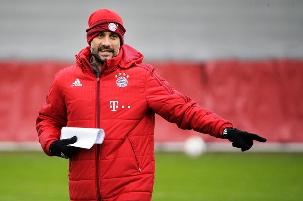 Controversial: Guardiola has been criticised for his exit at Bayern