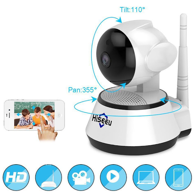 Home Security IP Wireless Smart WiFi Camera