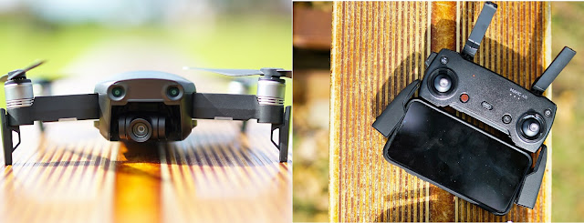 Review Dji Mavic Air Drone Mini Professional Dengan Kamera 4K
