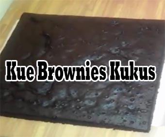 Resep Kue Brownies Kukus Coklat Manis