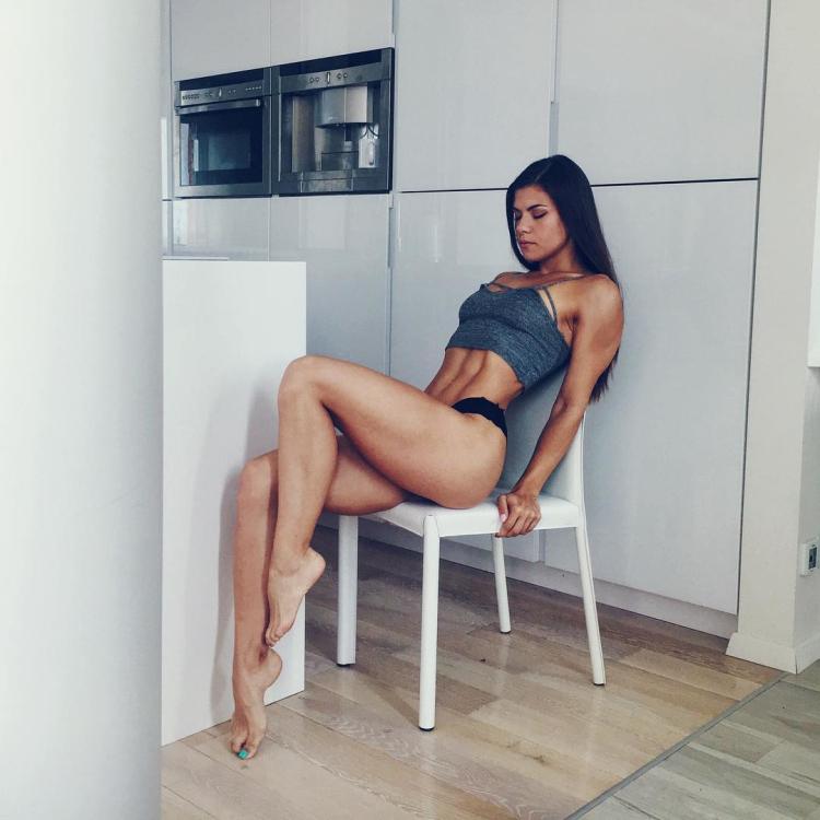 fitness model Alexander Rebrova