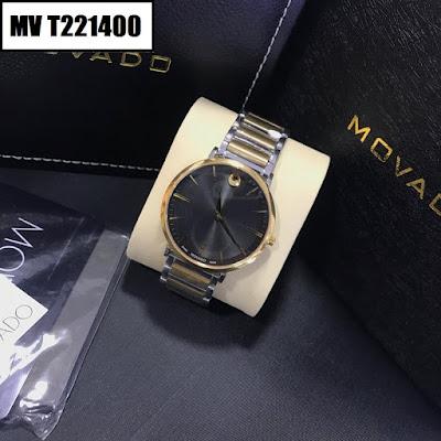 Đồng hồ nam dây inox trắng RD T08950