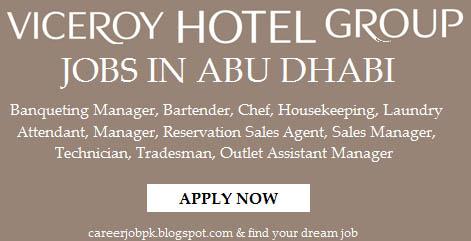 Viceroy Hotel Group Jobs Abu Dhabi