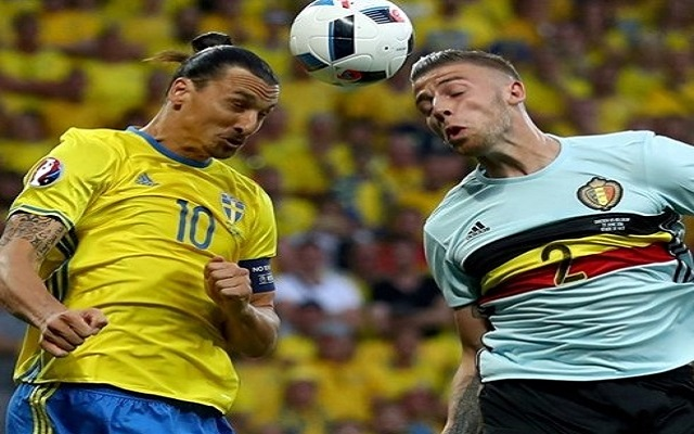 Sweden vs Belgium 0-1 at UEFA EURO 2016 - All Goals & Highlights