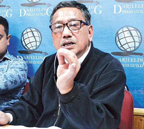 "GJM demands ""backward area"" status for Darjeeling hills"