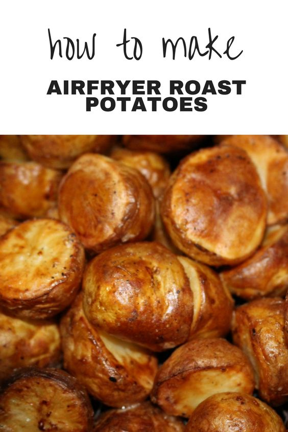 Airfryer Roast Potatoes