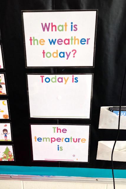 Kindergarten weather station