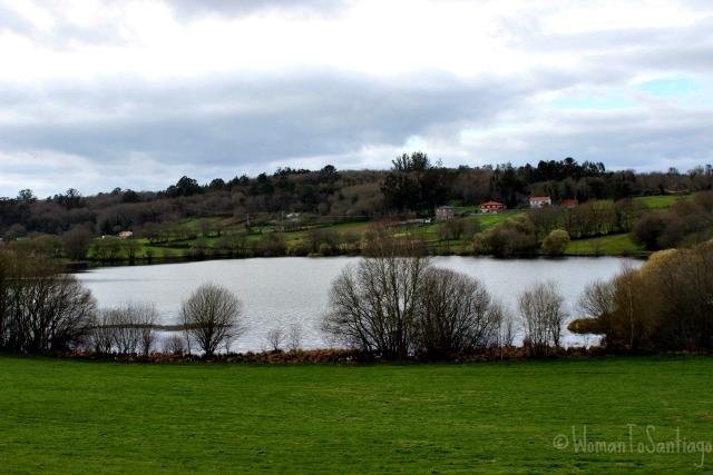 foto del lago de sobrado