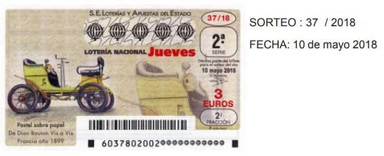 comprobar loteria jueves 10 mayo
