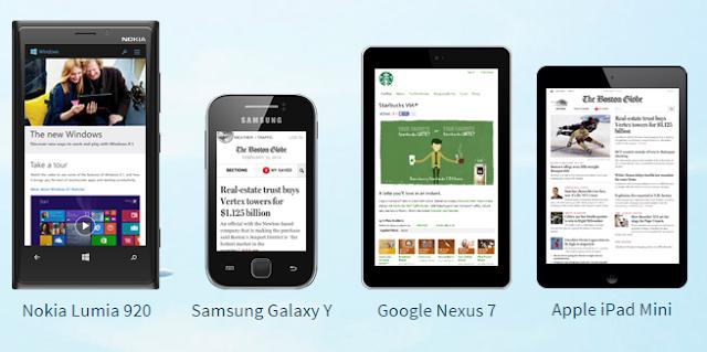 شرح اختبار توافق موقعك مع الجوال والهواتف الذكية