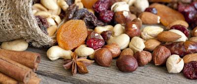 Les bienfaits des fruits secs