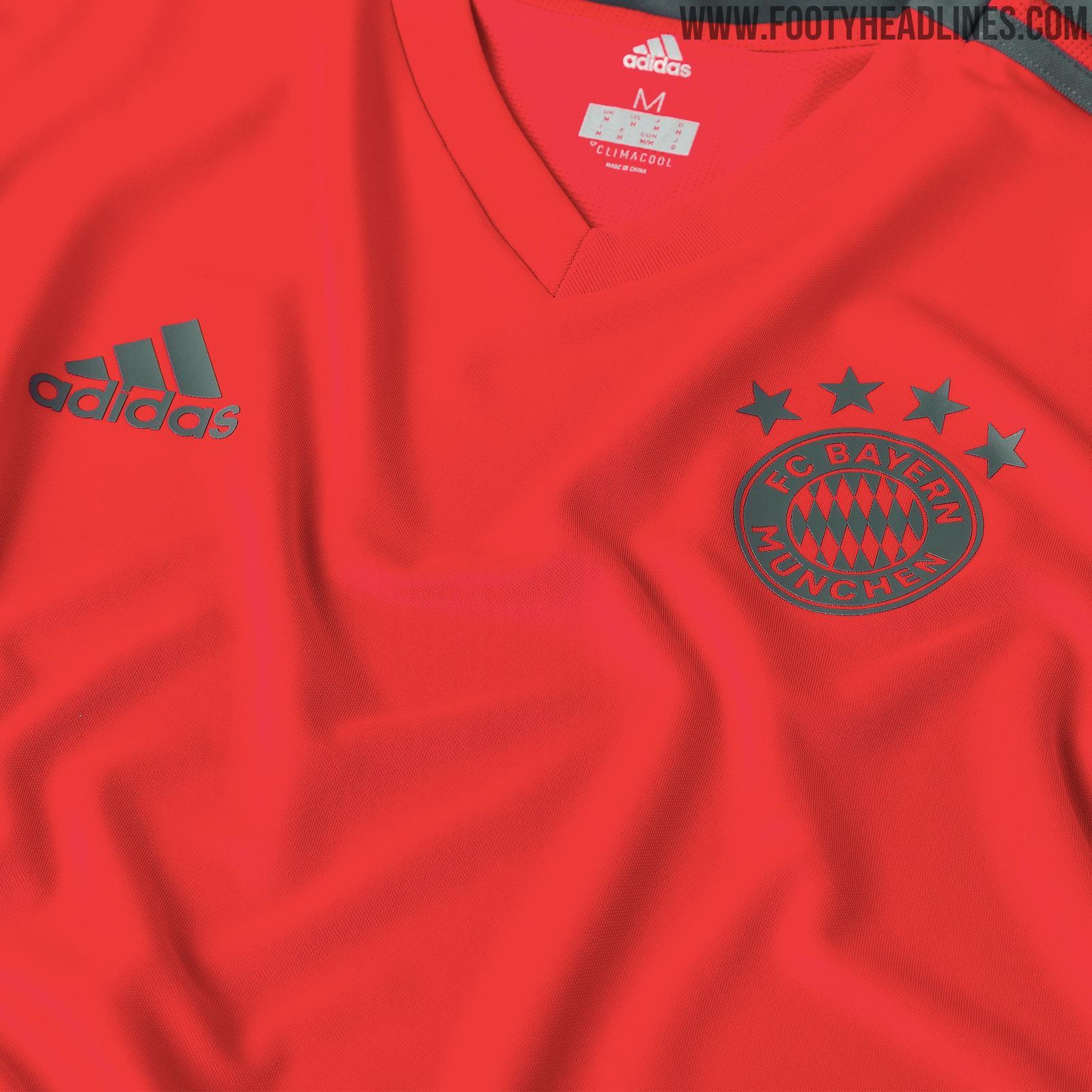 newest 2f13b 4afb3 Bayern Munich 18-19 Training Kit Released | Futbolgrid