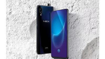 Vivo Nex, Smartphone Bezeless Tanpa Notch dan Kamera Selfie Pop Up