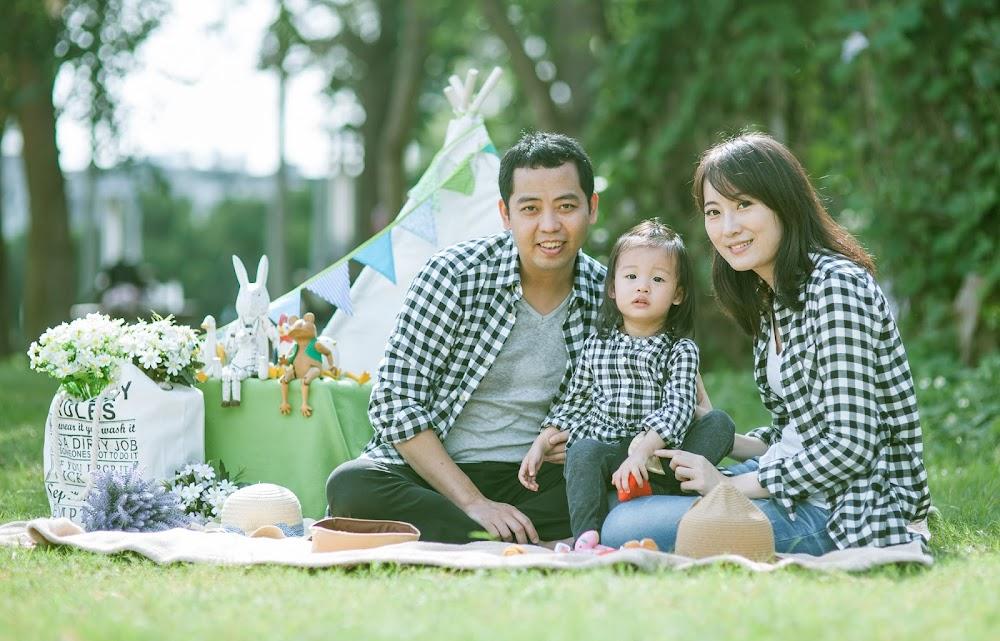 台北戶外 兒童攝影推薦拍照日系寫真 全家福