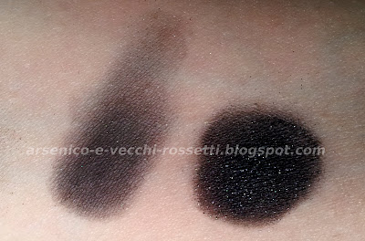Urban Decay Oil Slick ombretto vintage swatch