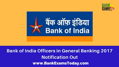 bank of india banking officers