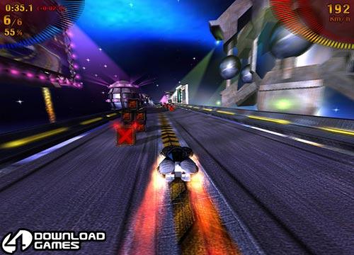 تحميل لعبة سباق السيارات في الفضاء Space Extreme Racers للكمبيوتر
