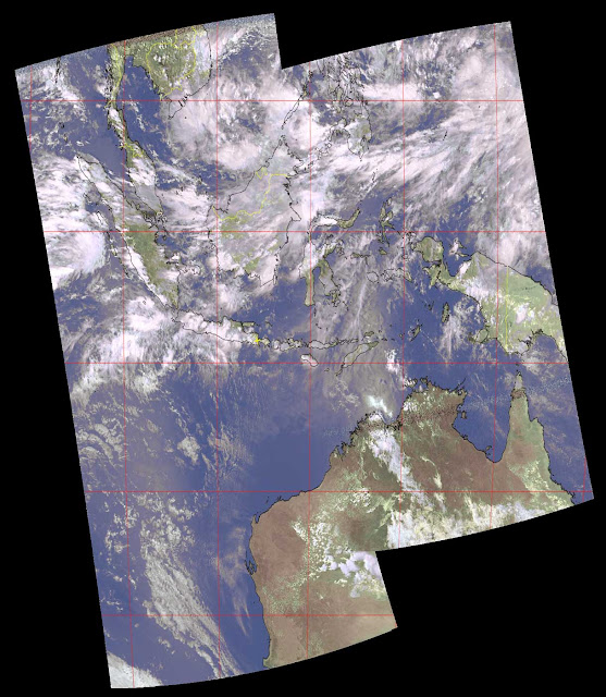 Composites Image from NOAA-19 satellite
