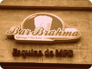O Famoso Bar Brahma, em São Paulo