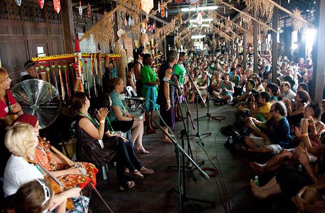 Workshop for Rainforest World Music Festival