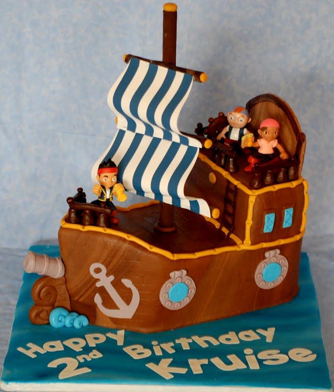 jake and the neverland pirates cake - photo #14