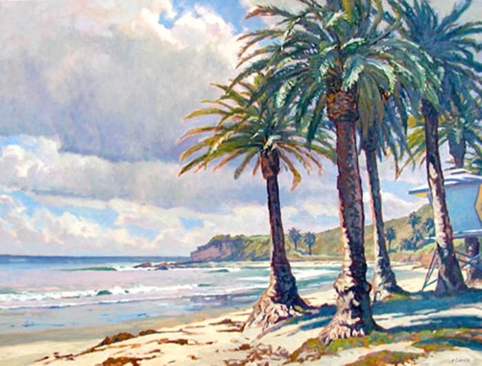 Пейзажи Калифорнии. John Comer 15