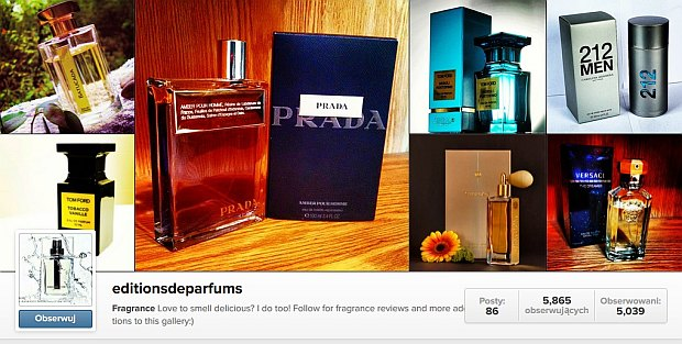 Instagram Editions de Parfums