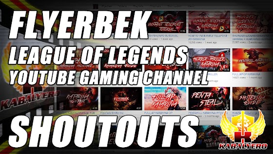 YouTube Subscriber Shoutout ★ Flyerbek ★ Join Curse Network