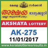 http://www.keralalotteriesresults.in/2017/01/AK-275-akshaya-lottery-results-11-01-2017-kerala-lottery-result.html