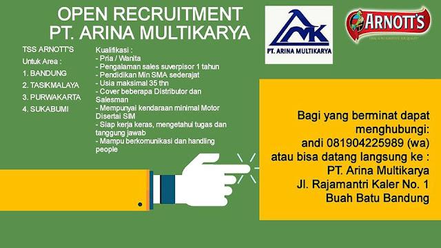 Loker PT. Arina Multikarya