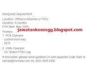 Kelantan Offshore Kerja Kosong