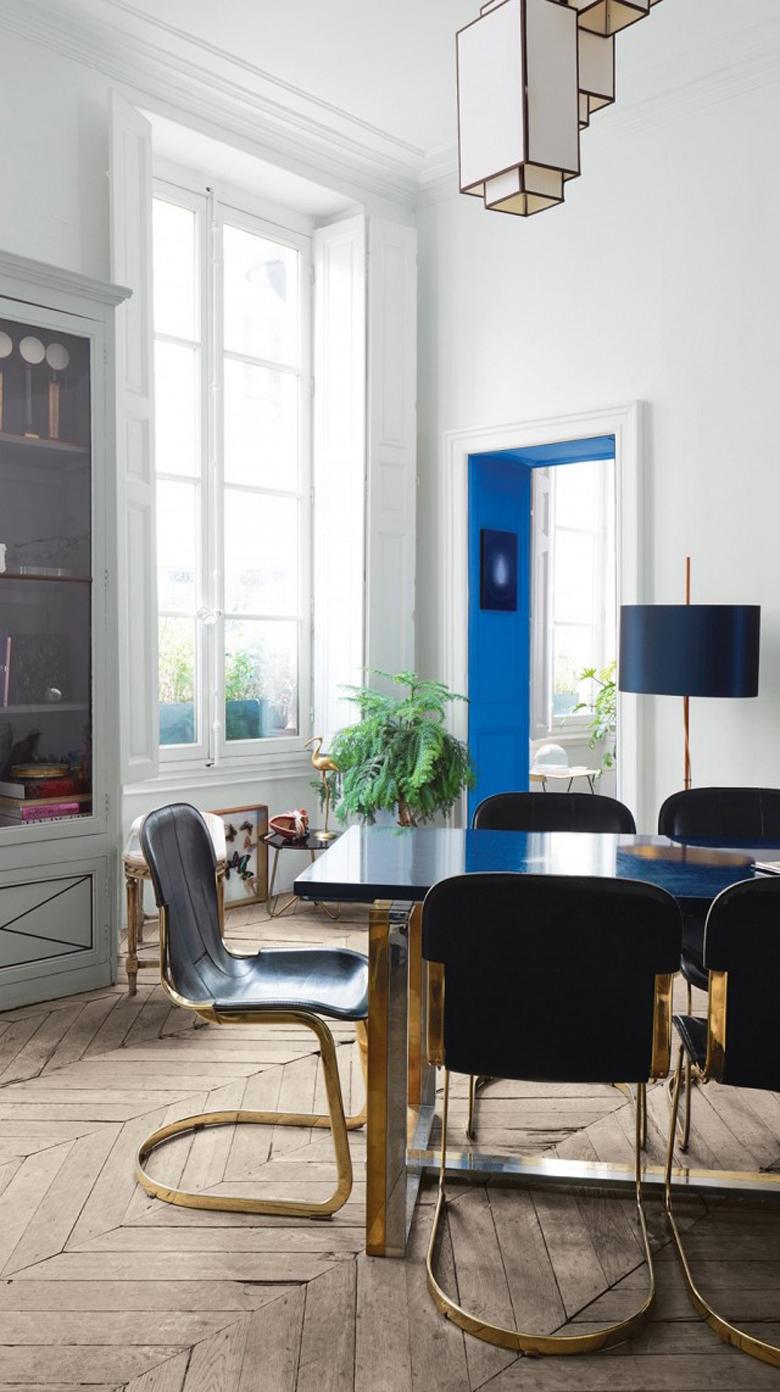 paryskie mieszkania wnetrza styl francuski
