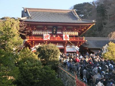 初詣:鶴岡八幡宮
