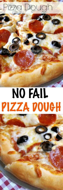 NO FAIL PIZZA DOUGH RECIPES