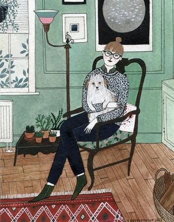 art by Yelena Bryksenkova   creative emotional illustration art drawings, pictures, deep feelings, happiness, sad   imagenes bellas, emociones sentimientos