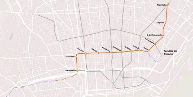 Llega la línea F de subte: tendrá trenes que se manejarán solos y puertas de andenes 0002024992