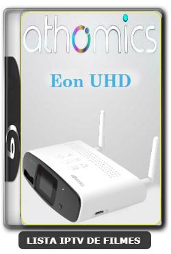 Athomics Eon UHD Primeira Atualização Via Porta USB 2.0 V2.0.0 - 29-01-2020
